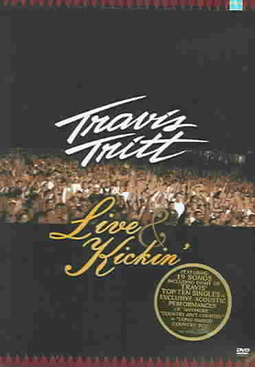 LIVE & KICKIN BY TRITT,TRAVIS (DVD)